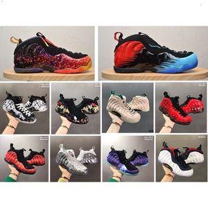 Mens barato Penny Hardaway 1 posites espuma zapatillas de baloncesto LeBron aire RETRO 17 para LeBrons aire de venta Tamaño máximo de 12 KD 11 zapatillas de deporte de las botas 7-13