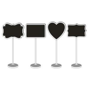 شكل قلب خشبي البسيطة السبورة السبورة البسيطة السبورة للكتابة قابل للمسح رسالة الجدول رقم الزفاف مكتب اسم حامل