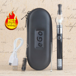 1 Adet Cam Globe e Sigara başlangıç seti Kuru Ot VAPORIZER ecigs Wax Vape Kalem ego t UGO V II 510 Konu Pil Elektronik Sigara evod