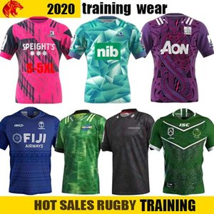 2020 Fiji Mario Hurricane Crusades Highland Chief Blues Super Rugby League Jersey 2020 Mustang training wear mens shirt suit Size: S-5XL