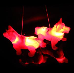 Kurt Köpek Parlak Müzik Elektrik Köpek Çocuk Aydınlık Oyuncak Çocuk Night Market Sıcak Oyuncak Toptan Öncü