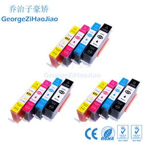 3 setleri Uyumlu HP 655 HP655 HP655XL için Mürekkep Kartuşu hp655 CZ109AE deskjet için 3525 5525 685 670 655xl 4615 4625 YAZICI