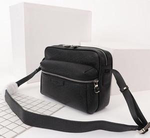 Les nouveaux hommes cuir d'épaule de sacs Concepteurs Sac célèbre Sacs de voyage Porte-documents Postman pochette sac à bandoulière hualonglin sac du coffre 5 couleurs
