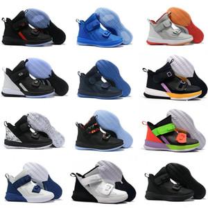 Новый солдат 13 XIII тройной черный белый Золотой лед синий мужская баскетбольная обувь солдат 13s тянуть шнурки дизайнер кроссовки США 7-12