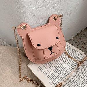 여성 2020 새로운 요정 파우치 개인 동전 지갑 여성의 어깨 가방 패션 소녀 크로스 바디 백 리틀 베어 가방 T200409에 대한 아바이 가방