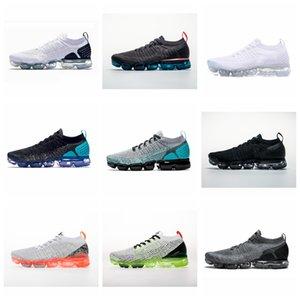 Nike air max Flyknit Utility Prata Branco Black Shoes Homens Mulheres para a execução Masculino sapatos Esporte Choque Corss Caminhadas Jogging sapatos de caminhada ao ar livre