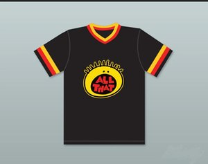 Kel Mitchell 00 All That Baseball Jersey 100% Stitched Any number Any Name Baseball Jerseys Black Fast Shipping S-6XL