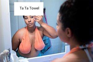حار إمرأة تاتا منشفة مثير الرسن منشفة ملابس داخلية اليومية عارضة قابل للتعديل على الوجهين بعد منشفة حمام 9 اللون لالتمثال C-H