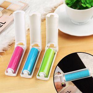 Bewegliche faltbare Lint Sticky Roller waschbar Haar Staub-Remover-Bürsten-Kleidung Sweater Reinigungsbürste Sticky Roller 3 Farben DBC BH3620