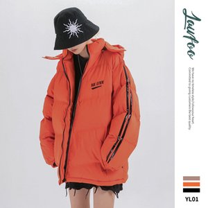 Lawfoo nationale Trends Origional Retro Sporty 19 Winter Neue Produkte HAKA Paare dicke warme Baumwolle Overcoat