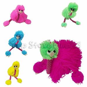 5 цветов 36 см декомпрессионные игрушки куклы куклы марионеток животных куклы ручной куклы игрушки плюша страус партия пользу CCA10761 100 шт.
