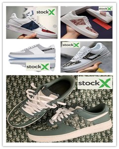 (box) 2020 New Men Women Low Cut One 1 Casual Shoes White Black Dunk Sports Skateboarding Shoes Classic Trainers High Sneakers EUR36-45