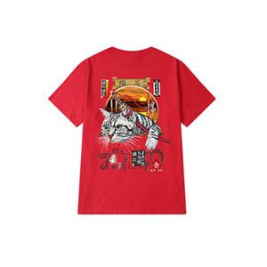 Les hommes et les femmes T-shirt été nouvelle top lâche vêtements de mode coréenne Hong Kong style casual manches courtes TEE