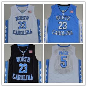 2019 UNC Basektball Jerseys North Carolina Tar Heels Michael Nassir Little Carter Luke Maye Barnes Vince azul Negro Blanco Jerseys cosidos
