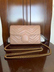 High Quality women Pu Leather Fashion Small Gold Chain Bag Cross body Pure Color Handbag Shoulder Messenger Bags 21cm*5cm*14cm Cross Body #8