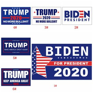 16 Стили Donald Trump Баннеры Флаги 2020 Американский президент Keep America Great Party Flag 90 * 150см Джо Байден Выборы Флаг DBC BH3830