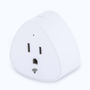 Triangle Top Quality Smart Plug Wifi Control US Canada Mexico Japan Standard Support with Amazon Alexa Google Home Assistant SmatLife App