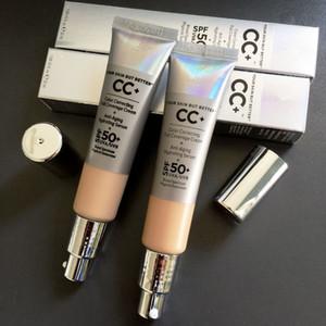 CC krem Cildiniz Ama Daha İyi CC krem rengi Düzeltme Aydınlatıcı Tam Kapsam Vakfı Krem SPF50 32ml Orta Işık