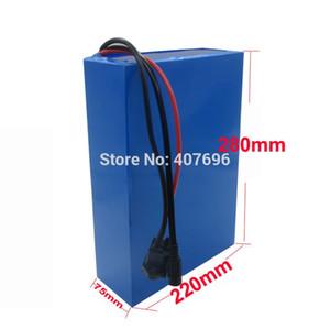 Charge de douane libre 3000W 48V 25AH batterie 48V batterie lithium-ion 48 V batterie ebike INR 25R Cell avec chargeur 70A BMS 2A