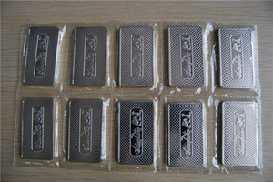 Silver Bar America One Ounce 999 Fine Silver Plated Coin Bars sealed SilverTowne Silver Bar