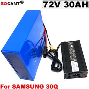 72V 30AH bici elettrica batteria al litio per Samsung 30Q 18650 72V E-bike batteria Li-ion 2000W 3000W con 5A caricatore di trasporto