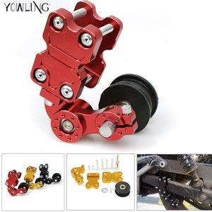 5 couleurs en option tendeur de chaîne de moto pièces refires chaîne de moto tendeur de caoutchouc de tendeur automatique en alliage d'aluminium