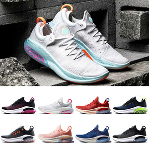 Nike joyride run flyknit البلاتين تينت سياقة المتعة تشغيل FK رجل متماسكة الاحذية جامعة أحمر أسود أبيض أوريو الأزرق الداكن مصمم أحذية نزهة المدربين أحذية رياضية
