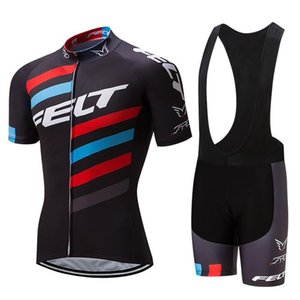 2020 New 2020 Felt Pro Cycling Jersey Bike Short Set Mtb Ropa Ciclismo Pro Cycling Wear Mens Radfahren Maillot Culotte
