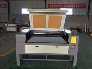 1390 80w de corte a laser de dupla cabeça de madeira e gravura cortador de máquina de fábrica gravador china