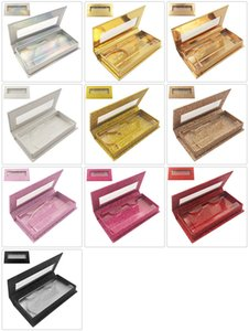 Özel Kirpik Ambalaj Kutuları Hediye kutusu Kirpikler Paketi Özelleştirmek Saklama Kutuları Makyaj Kozmetik Durumda Vizon Yanlış Kirpik 1 Adet