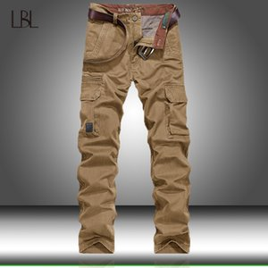 Tactical Cargo Pants Men Combat SWAT Army Pants Cotton Multi Pockets Stretch Flexible Man Casual Trousers Outwear