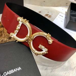 Cintura 70MM nuovo cuoio genuino di stile di lusso per uomini e donne Moda Cintura di alta qualità con la scatola di 176 W88