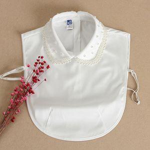 estilo falso camisa Z4BKu New coreano infantil versátil frisado camisola decorativo colar outono primavera tong chen shan Tong chen shan frisada c