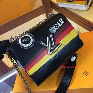 Best Love heart V Wave Pattern Satchel Designers Handbag Shoulder Bags Chain Bag Crossbody Bags Purse Messenger bag Lady Tote bags