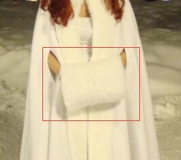 Mais recente 2019 Luvas de casamento New White do Marfim Cabo Faux Fur Inverno Acessórios Mariage Wedding Bride Gloves AL64