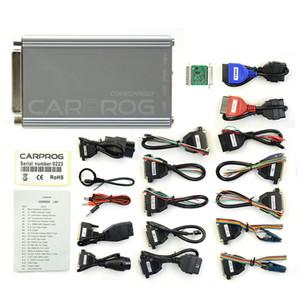 Completo 21 articoli Car Adapter Prog V10.93 carprog Per Airbag / Radio / Dash / IMMO / Strumento di riparazione automatica programmatore ECU