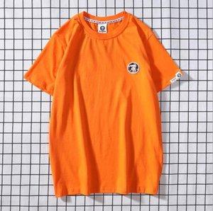 Fashion mens T-shirts summer casual simple printing multiple colors short-sleeved T-shirt fashion street popular short TEE