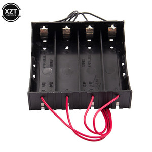 atteries Rechargeable Batteries Durable 18650 Battery Storage Box Hard Case Holder with Leads For 1 2 3 4x Slots 18650 Rechargeable Batte...
