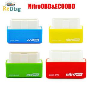 NitroOBD2EcoOBD2 이코노미 칩 튜닝 박스 니트로 OBD 플러그 드라이브 니트로 OBD2 35%더 많은 전력 25%더 토크 OBD2