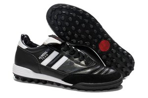 2019 Original Mens Soccer Cleats Copa MUNDIAL TF TURF GOAL INDOOR Mundial Team Astro Craft Football Boots Scarpe Calcio Cheap