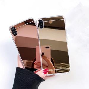 아이폰 6 소프트 보호 전화 커버 TPU 울트라 씬 미러 클리어 플러스 7 개 8plus X XR X가 최대 11 (11) 프로 맥스 삼성 S10 주 (10)