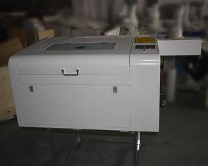80w 460 láser grabador acrílico cortador, láser de CO2 de grabado precio de la máquina de corte
