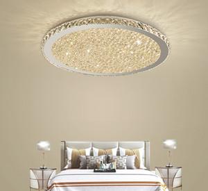 Lustres en cristal modernes Lumières Home Lighting ledlamp Salon Chambre plafonnier Lustre rond à LED lampadari fixtures