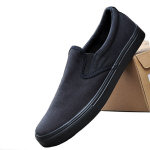 New Men's Canvas Sneaker Shoes Man Casual Slip on Loafers Plus Large Size 45 46 47 48 Breathable Mens Sneakers Plus Size 13