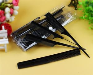 DHL transporte 10pcs / Set Professional Hair Comb Escova Salon Barber Anti-estático ferramentas de cabelo Combs Hairbrush Cabeleireiros Combs Hair Care Styling