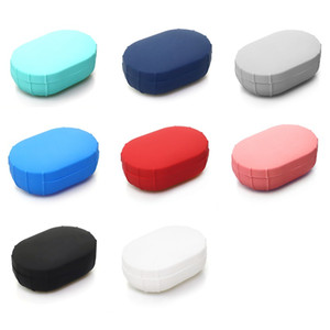 Silicone Case Cover For Xiaomi MI Redmi AirDots Youth Version Wireless Bluetooth Earphone TWS Charging Case Soft TPU Shell