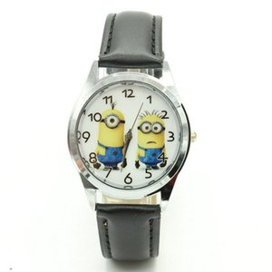 Free Shipping 2017 Wholesale 1pcs minions NEW Cartoon watch kids children cartoon watches christmas gift