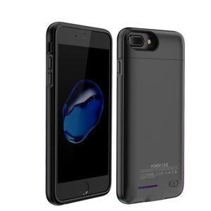 Магнитно внешнее зарядное устройство чехол для iPhone 6 6 с 7 8 плюс корпус батареи Power Bank зарядный чехол Обложка для iPhone 6 6s 7 8