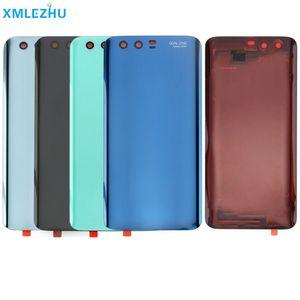 10шт заднего стекла Крышка батарейного отсека Замена корпуса для Huawei Honor Для 9 облегченный случай ремонта Honor9 Задняя дверь Задняя часть