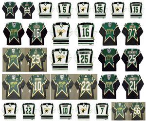 Vintage Dallas Stars Jersey 16 PAT VERBEEK 77 PIERRE TURGEON 29 STEVE OTT 25 JOE NIEUWENDYK 10 BRENDEN MORROW BRETT HULL Broten Retro Hockey